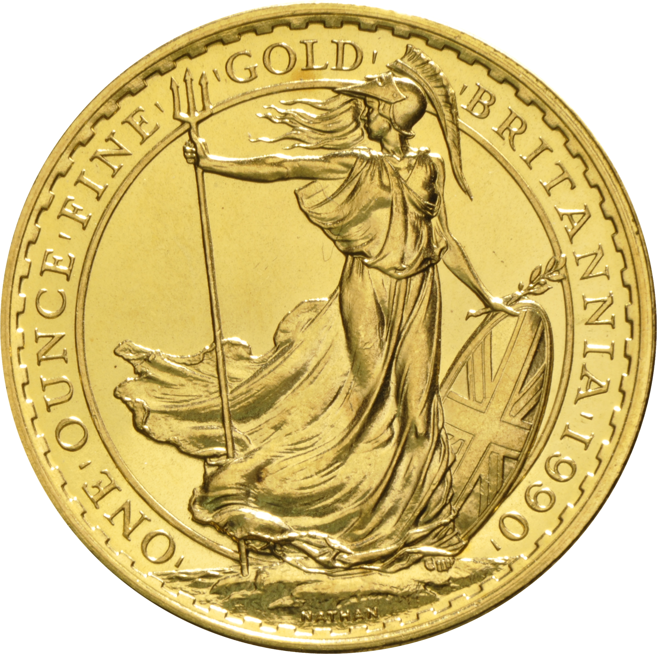 1990 Gold Britannia One Ounce Coin 1 228