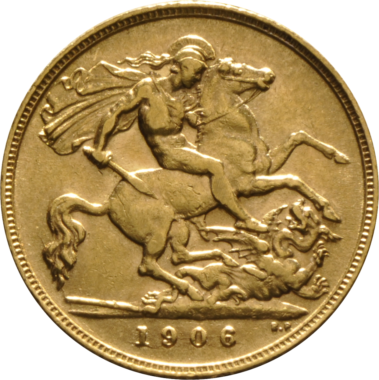 1906 Gold Half Sovereign King Edward Vii London 175 00