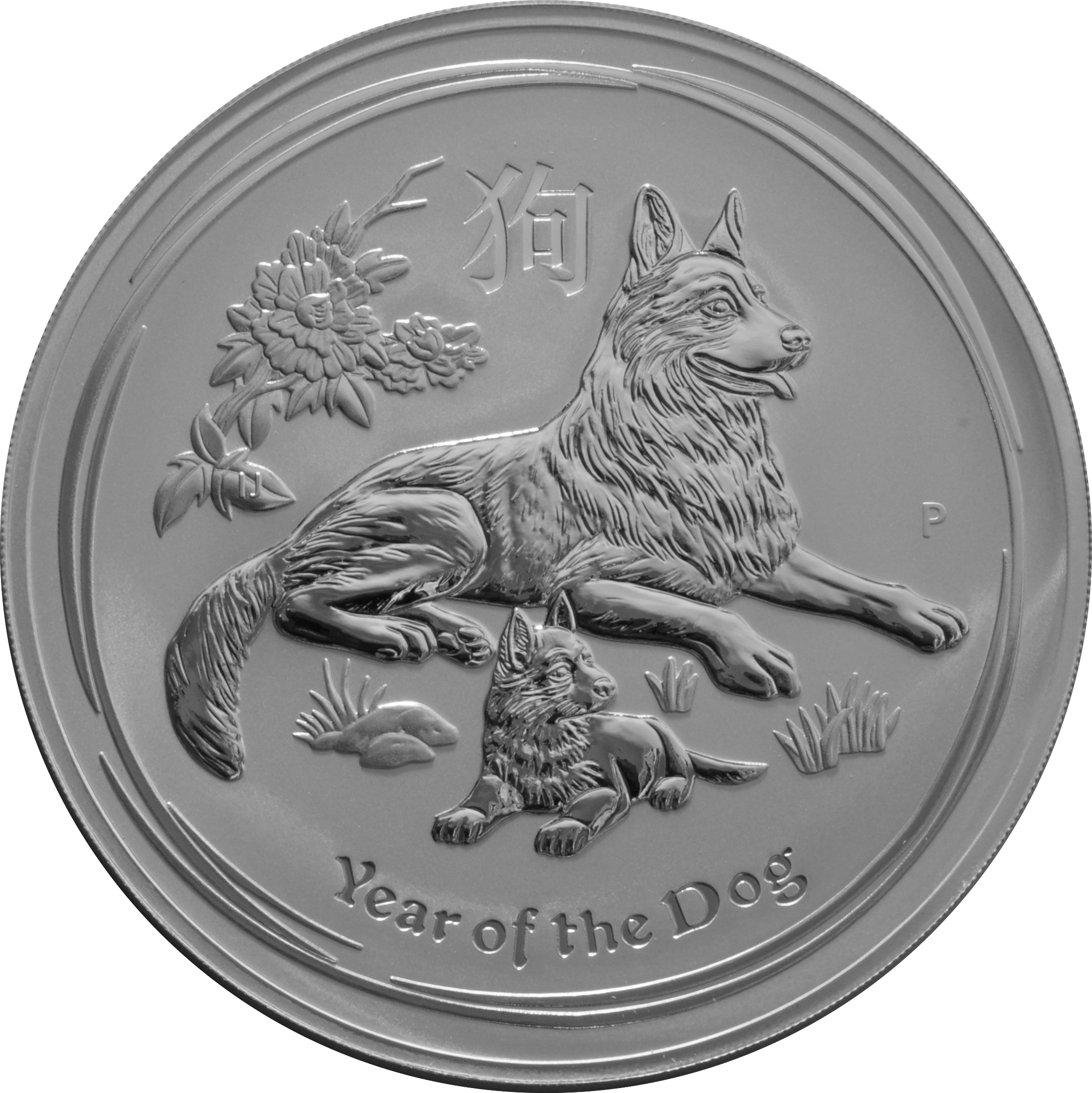 2018 1 Kilo Australian Lunar Year Of The Dog Silver Coin