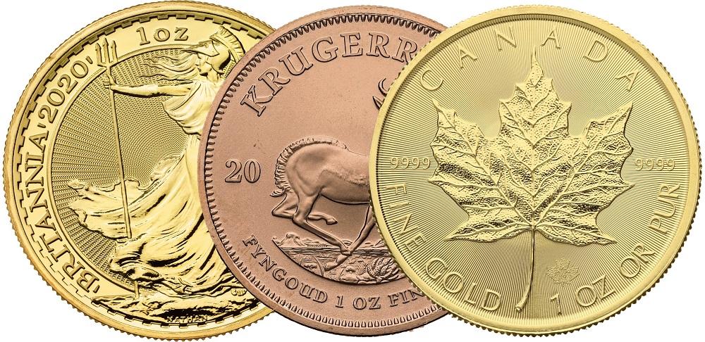 1oz Gold Coins Best Value