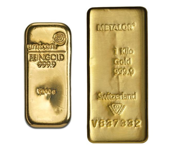 1kg Gold Bars Best Value