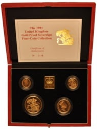Royal Mint Gold Proof Coin Sets
