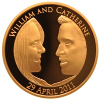 Royal Mint William and Kate Proof Gold Coin
