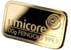100g Gold Bar
