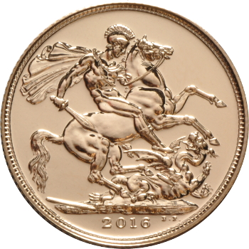 2016 Gold Sovereign