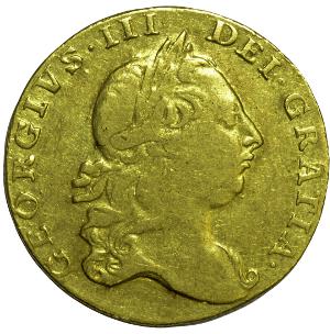 Guinea George III Head