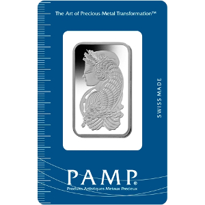 1oz PAMP Platinum Bar